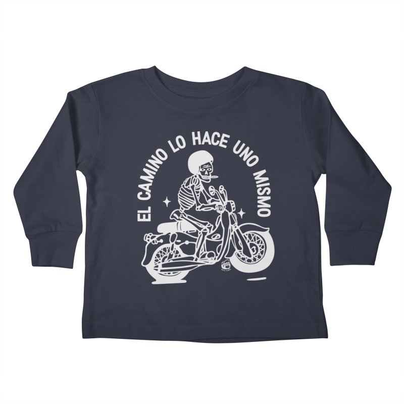 THE ROAD Kids Toddler Longsleeve T-Shirt by Mico Jones Artist Shop