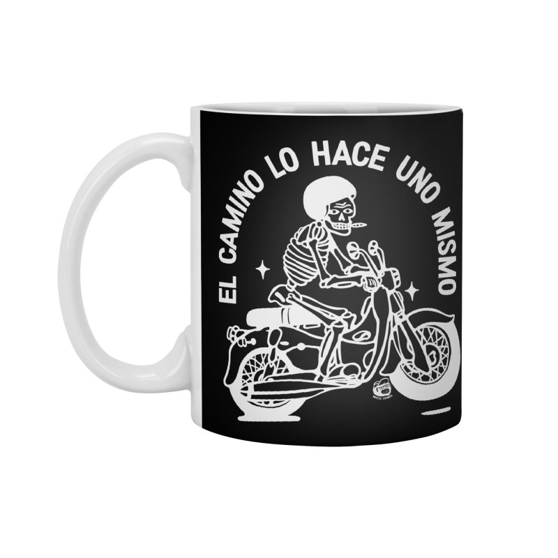 THE ROAD Accessories Standard Mug by Mico Jones Artist Shop