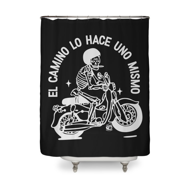 THE ROAD Home Shower Curtain by Mico Jones Artist Shop
