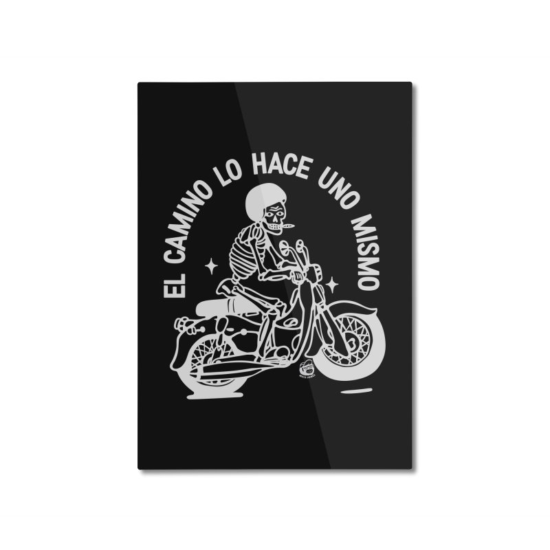 THE ROAD Home Mounted Aluminum Print by Mico Jones Artist Shop