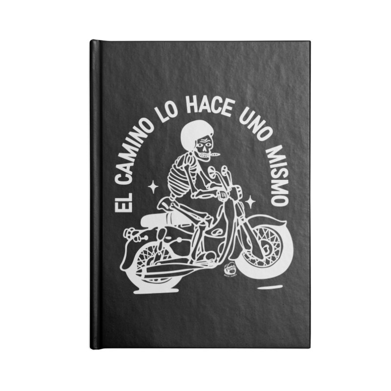 THE ROAD Accessories Lined Journal Notebook by Mico Jones Artist Shop
