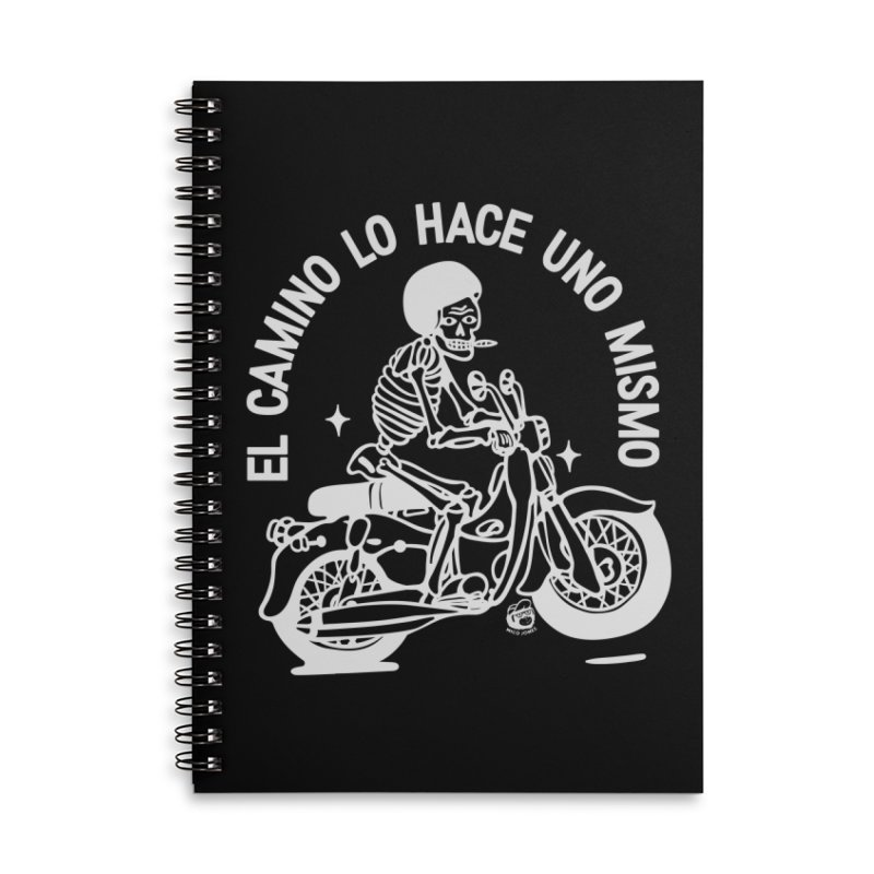 THE ROAD Accessories Lined Spiral Notebook by Mico Jones Artist Shop
