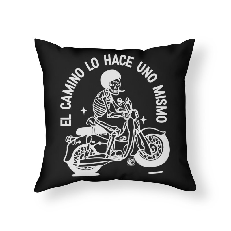 THE ROAD Home Throw Pillow by Mico Jones Artist Shop