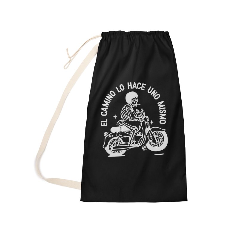 THE ROAD Accessories Laundry Bag Bag by Mico Jones Artist Shop