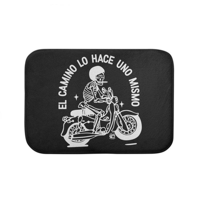 THE ROAD Home Bath Mat by Mico Jones Artist Shop