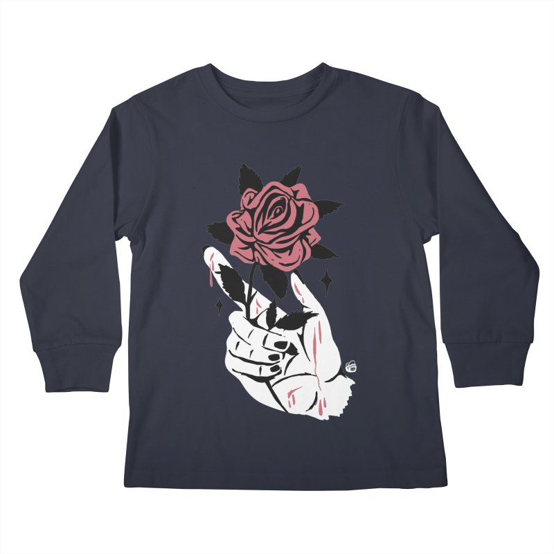 THORNS Kids Longsleeve T-Shirt by Mico Jones Artist Shop