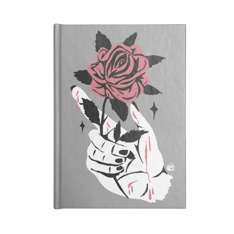 THORNS Accessories Blank Journal Notebook by Mico Jones Artist Shop