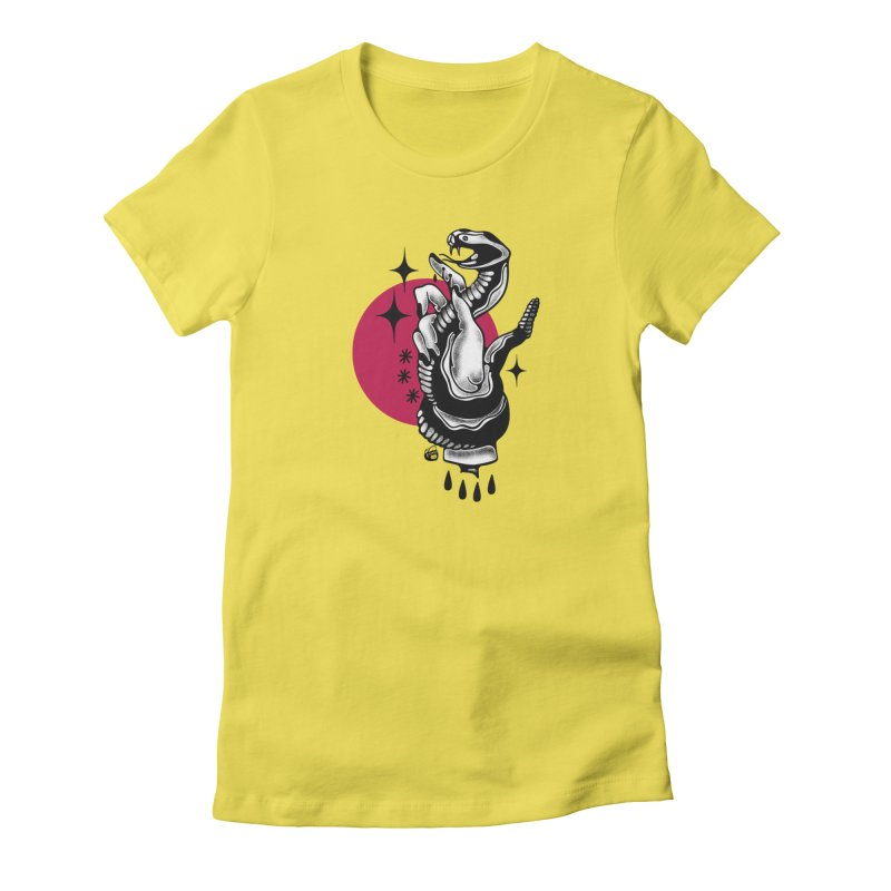 POISON Women's T-Shirt by Mico Jones Artist Shop