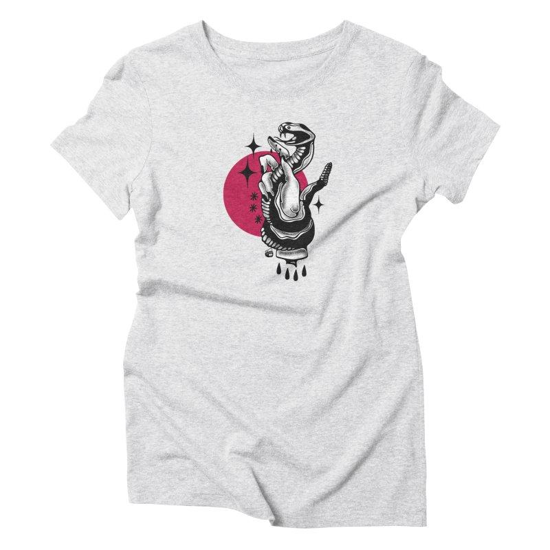 POISON Women's T-Shirt by Mico Jones Artist Shop