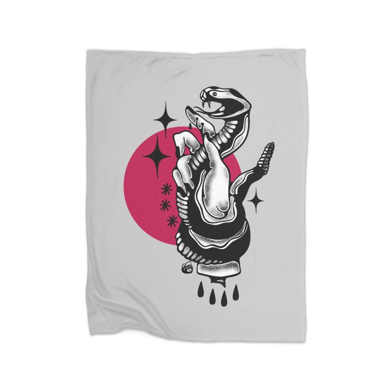 POISON Home Blanket by Mico Jones Artist Shop