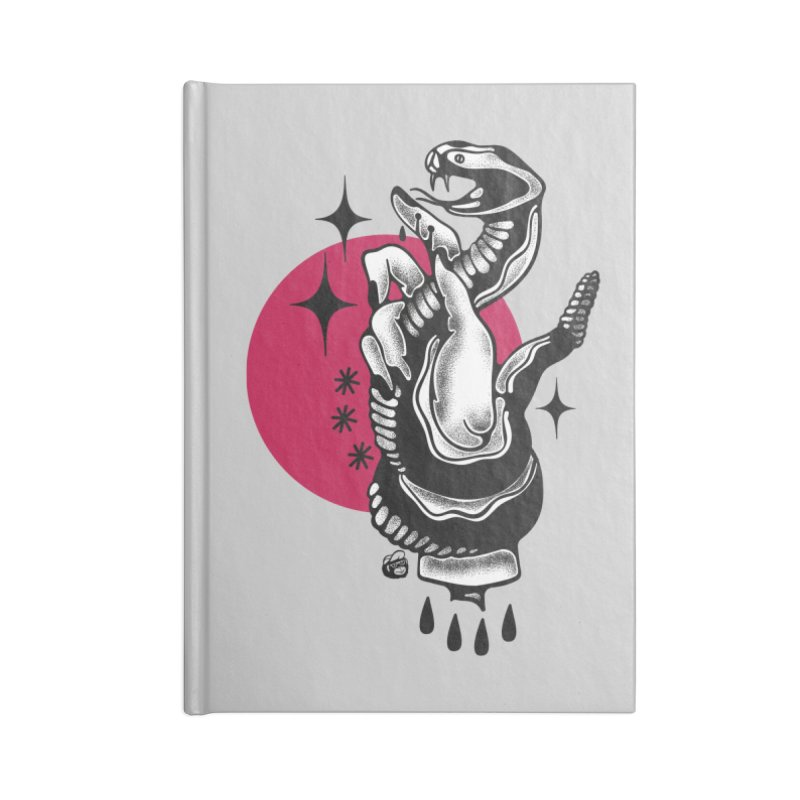 POISON Accessories Blank Journal Notebook by Mico Jones Artist Shop