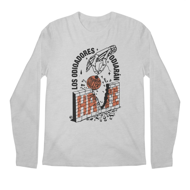 HATERS Men's Longsleeve T-Shirt by Mico Jones Artist Shop