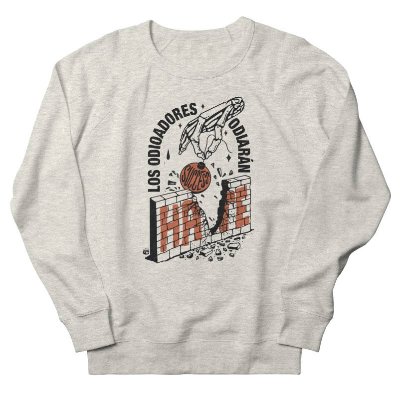 HATERS Women's Sweatshirt by Mico Jones Artist Shop