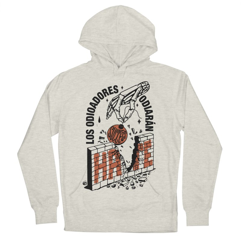 HATERS Men's French Terry Pullover Hoody by Mico Jones Artist Shop