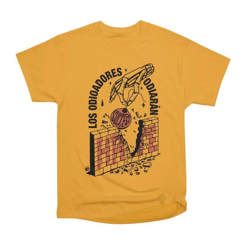 HATERS Men's Heavyweight T-Shirt by Mico Jones Artist Shop