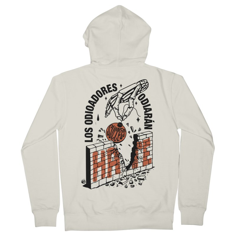 HATERS Men's French Terry Zip-Up Hoody by Mico Jones Artist Shop