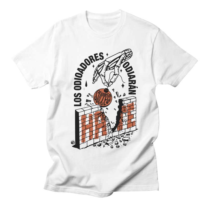 HATERS Men's Regular T-Shirt by Mico Jones Artist Shop