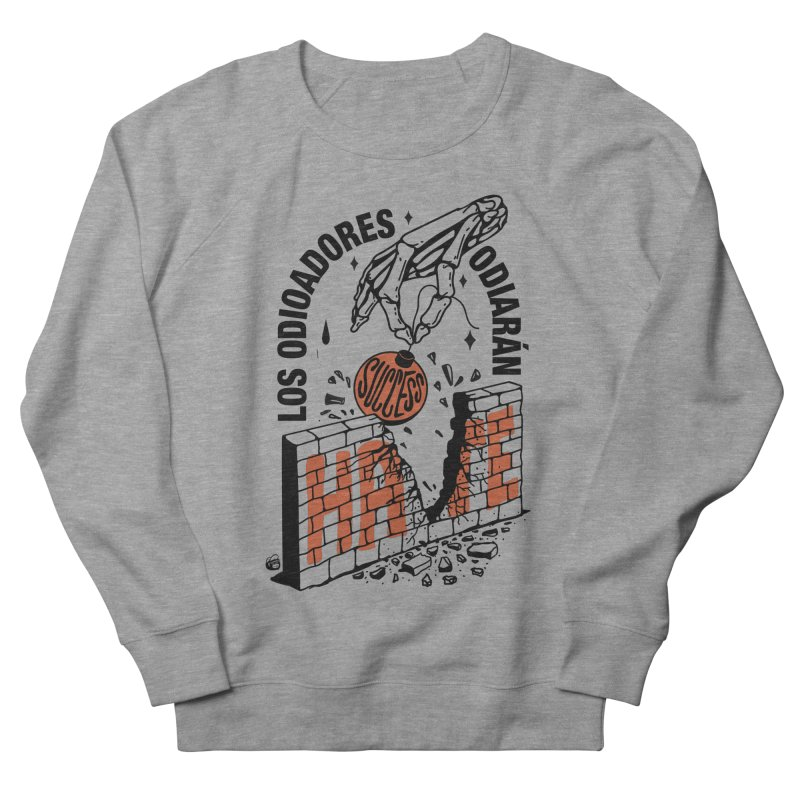 HATERS Men's Sweatshirt by Mico Jones Artist Shop