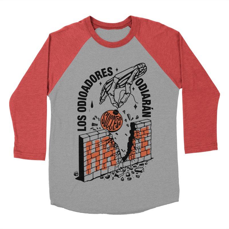 HATERS Women's Baseball Triblend Longsleeve T-Shirt by Mico Jones Artist Shop