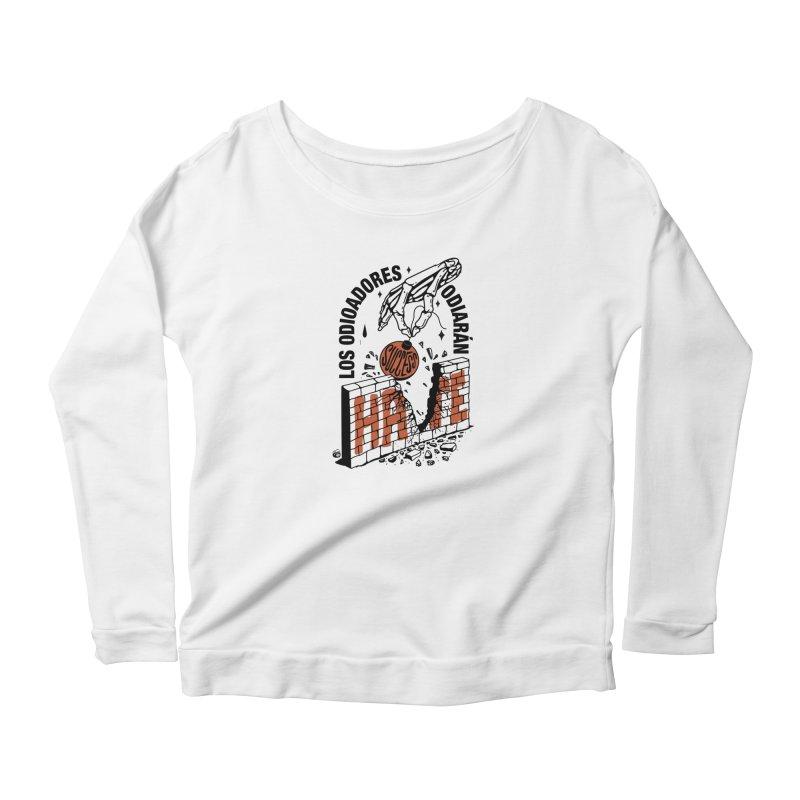 HATERS Women's Longsleeve T-Shirt by Mico Jones Artist Shop
