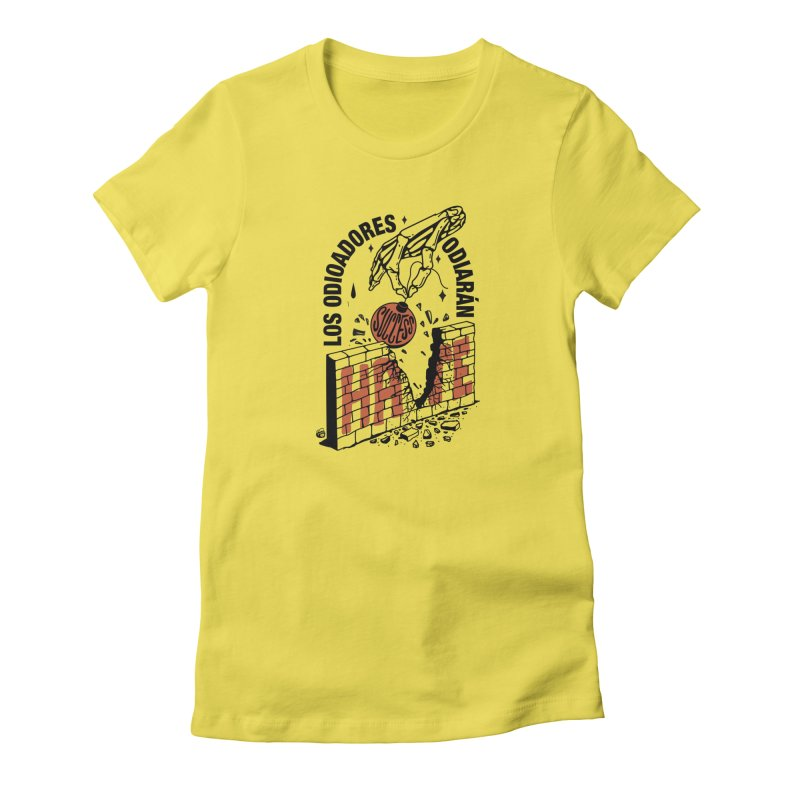 HATERS Women's T-Shirt by Mico Jones Artist Shop