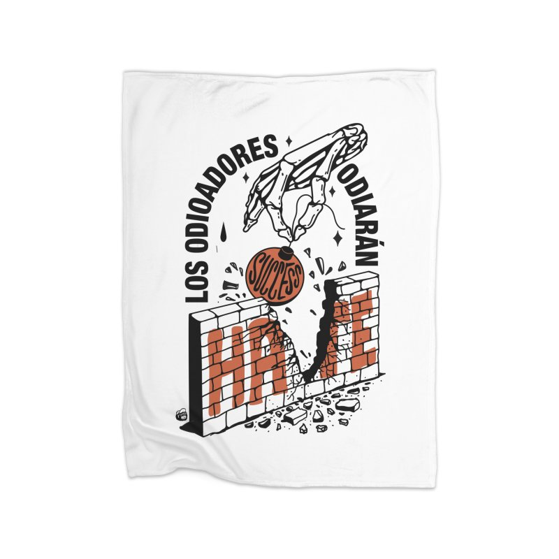 HATERS Home Blanket by Mico Jones Artist Shop