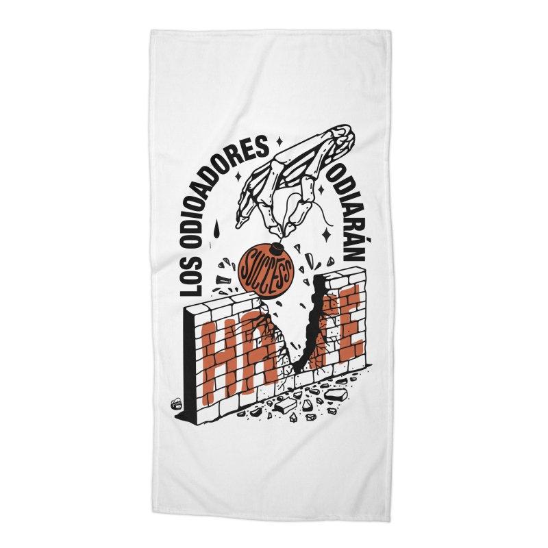 HATERS Accessories Beach Towel by Mico Jones Artist Shop