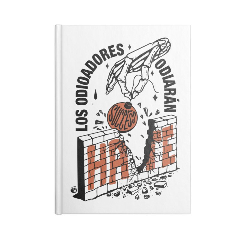 HATERS Accessories Notebook by Mico Jones Artist Shop