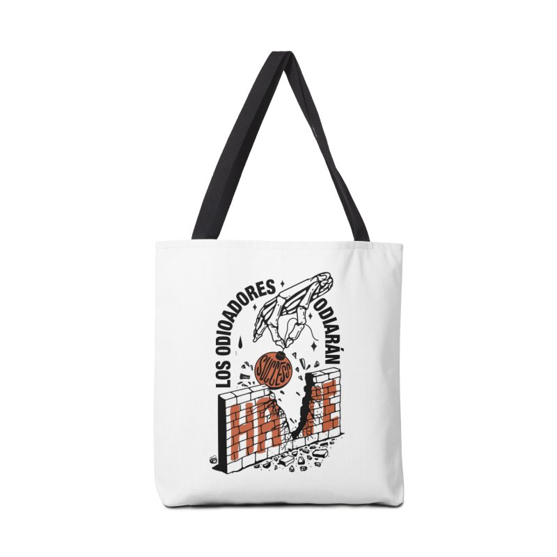 HATERS Accessories Tote Bag Bag by Mico Jones Artist Shop