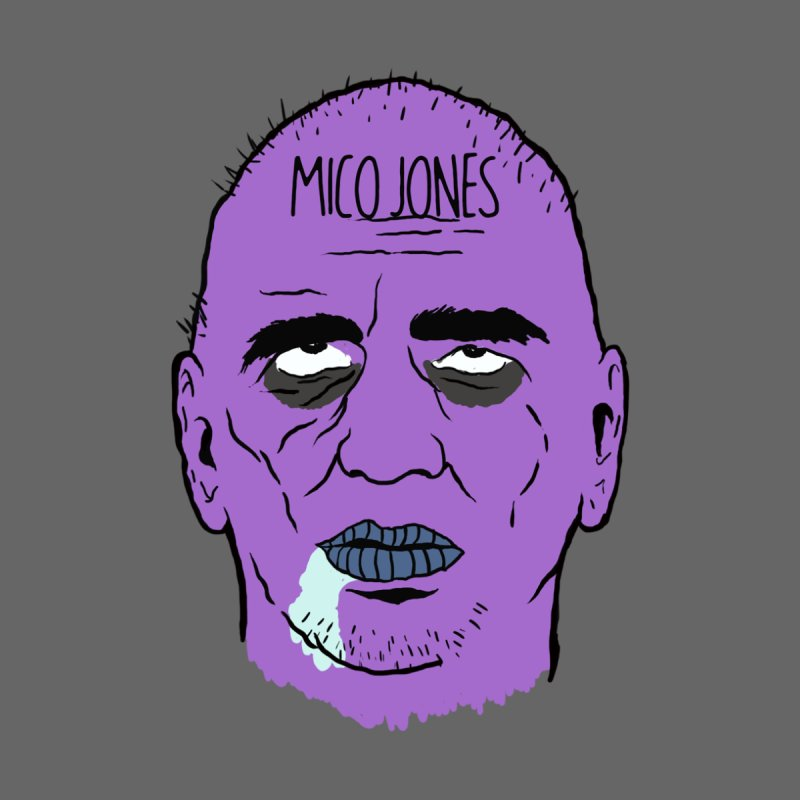 ZOMBIES, HOUSE MUSIC & PILLS by Mico Jones Artist Shop