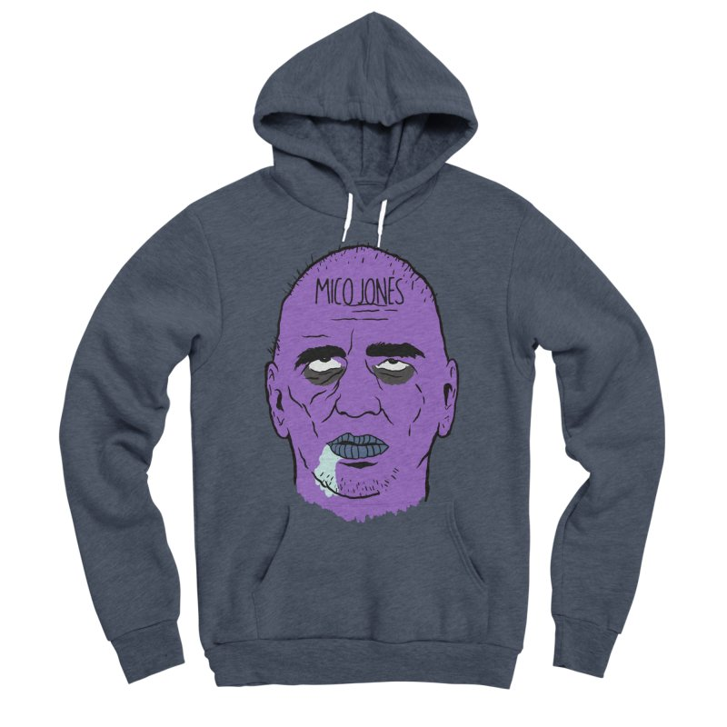 ZOMBIES, HOUSE MUSIC & PILLS Men's Pullover Hoody by Mico Jones Artist Shop