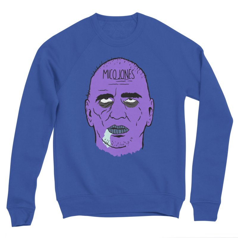 ZOMBIES, HOUSE MUSIC & PILLS Men's Sweatshirt by Mico Jones Artist Shop