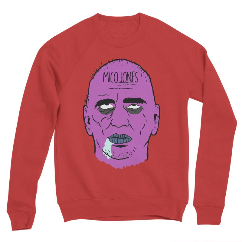 ZOMBIES, HOUSE MUSIC & PILLS Men's Sponge Fleece Sweatshirt by Mico Jones Artist Shop