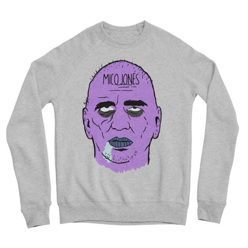 ZOMBIES, HOUSE MUSIC & PILLS Men's Sponge Fleece Sweatshirt by Mico Jones Artist Shop