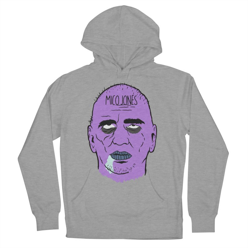 ZOMBIES, HOUSE MUSIC & PILLS Men's French Terry Pullover Hoody by Mico Jones Artist Shop