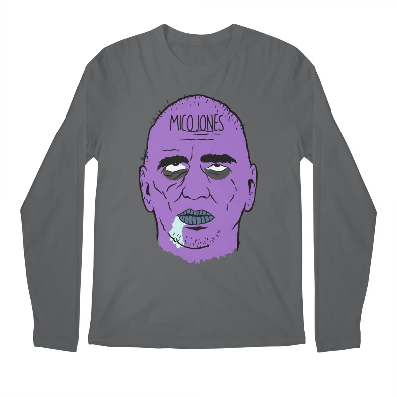 ZOMBIES, HOUSE MUSIC & PILLS Men's Longsleeve T-Shirt by Mico Jones Artist Shop