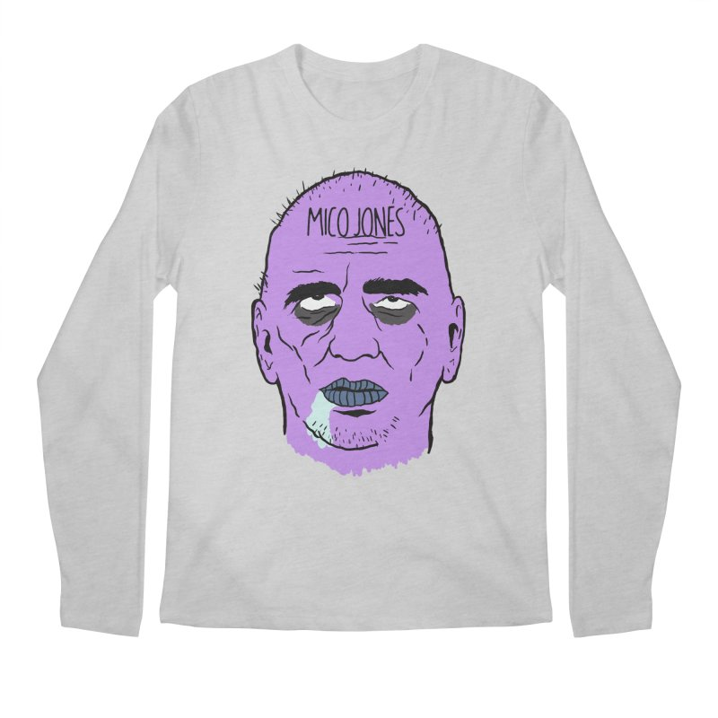 ZOMBIES, HOUSE MUSIC & PILLS Men's Regular Longsleeve T-Shirt by Mico Jones Artist Shop