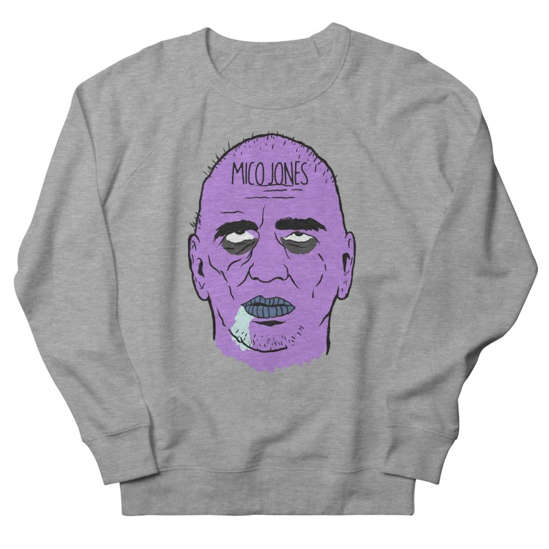 ZOMBIES, HOUSE MUSIC & PILLS Women's French Terry Sweatshirt by Mico Jones Artist Shop