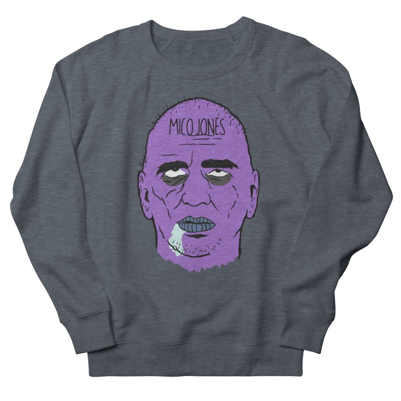 ZOMBIES, HOUSE MUSIC & PILLS Men's French Terry Sweatshirt by Mico Jones Artist Shop