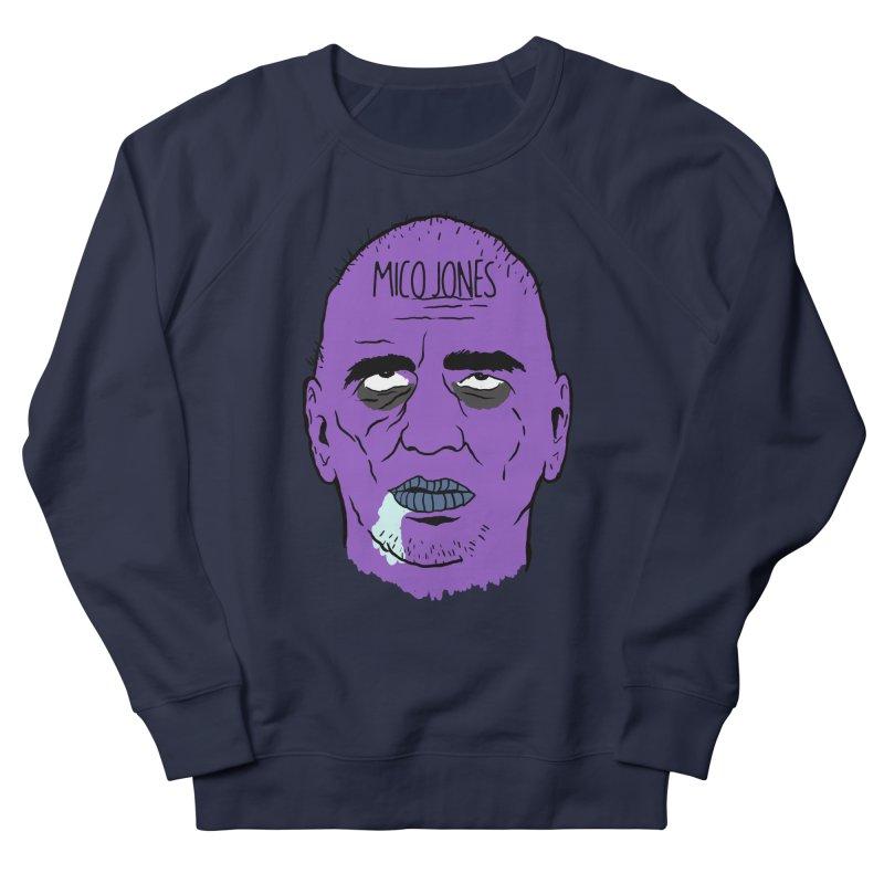 ZOMBIES, HOUSE MUSIC & PILLS Men's French Terry Sweatshirt by Mico Jones Artist Shop
