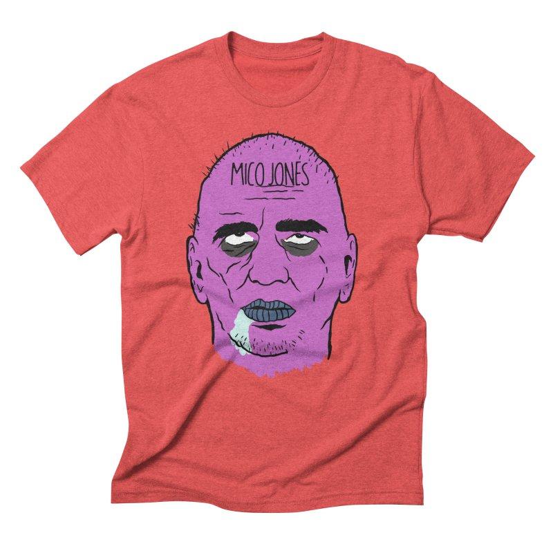 ZOMBIES, HOUSE MUSIC & PILLS Men's Triblend T-Shirt by Mico Jones Artist Shop