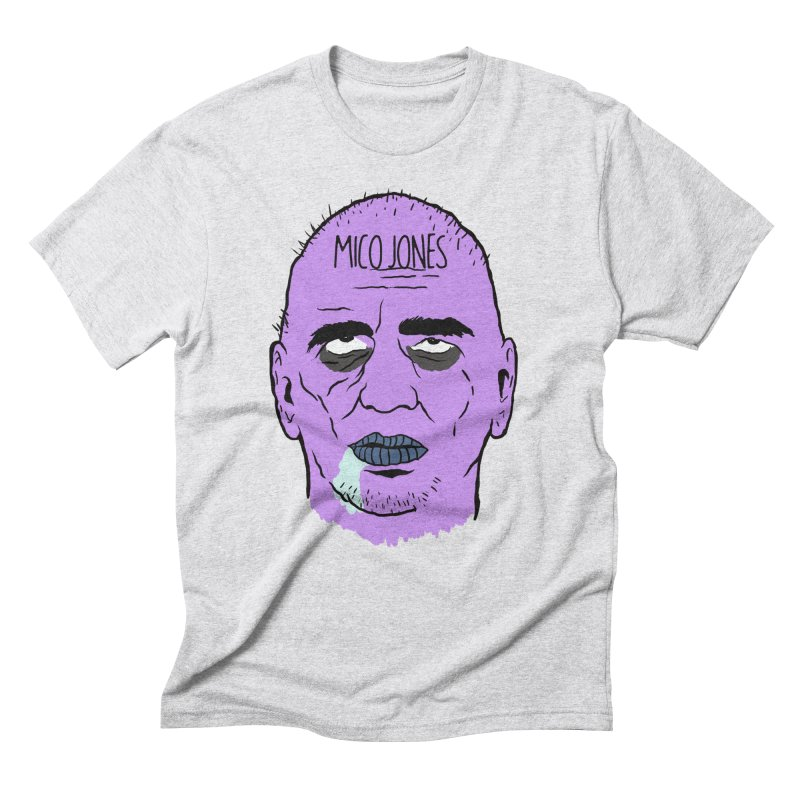 ZOMBIES, HOUSE MUSIC & PILLS Men's Triblend T-Shirt by Mico Jones Artist Shop