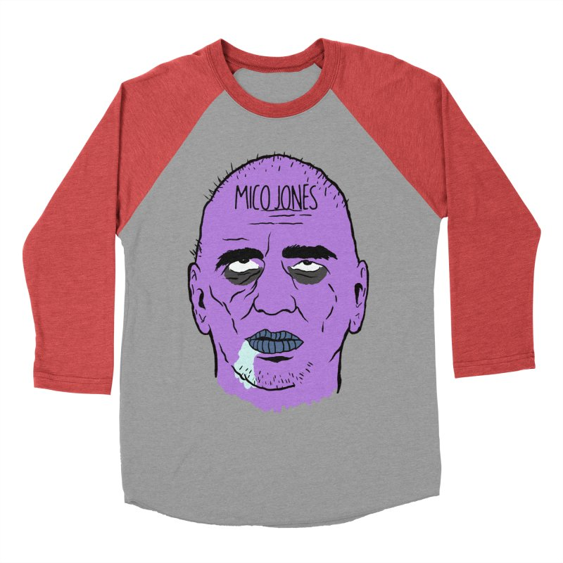 ZOMBIES, HOUSE MUSIC & PILLS Men's Baseball Triblend Longsleeve T-Shirt by Mico Jones Artist Shop