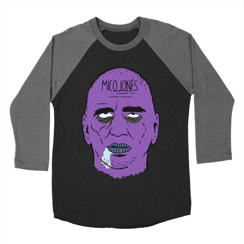 ZOMBIES, HOUSE MUSIC & PILLS Men's Baseball Triblend Longsleeve T-Shirt by Mico Jones Artist Shop