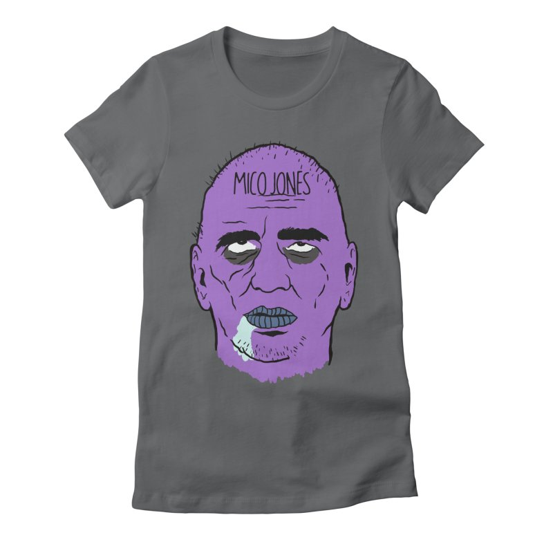 ZOMBIES, HOUSE MUSIC & PILLS Women's Fitted T-Shirt by Mico Jones Artist Shop