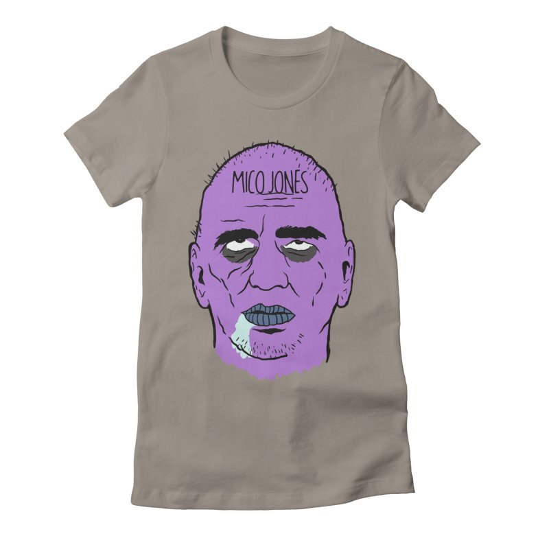ZOMBIES, HOUSE MUSIC & PILLS Women's Fitted T-Shirt by Mico Jones Artist Shop
