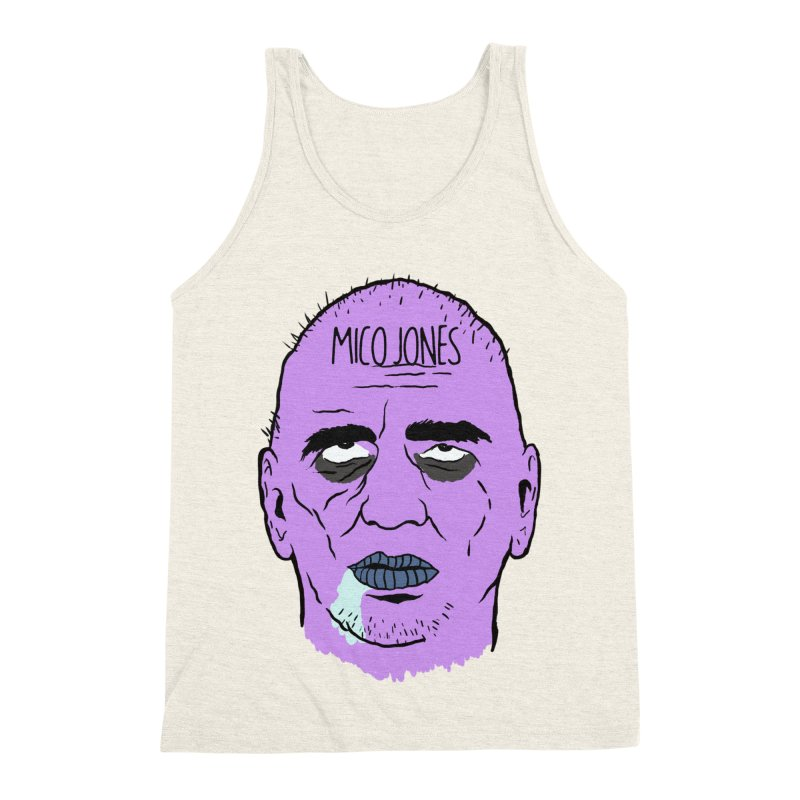 ZOMBIES, HOUSE MUSIC & PILLS Men's Triblend Tank by Mico Jones Artist Shop