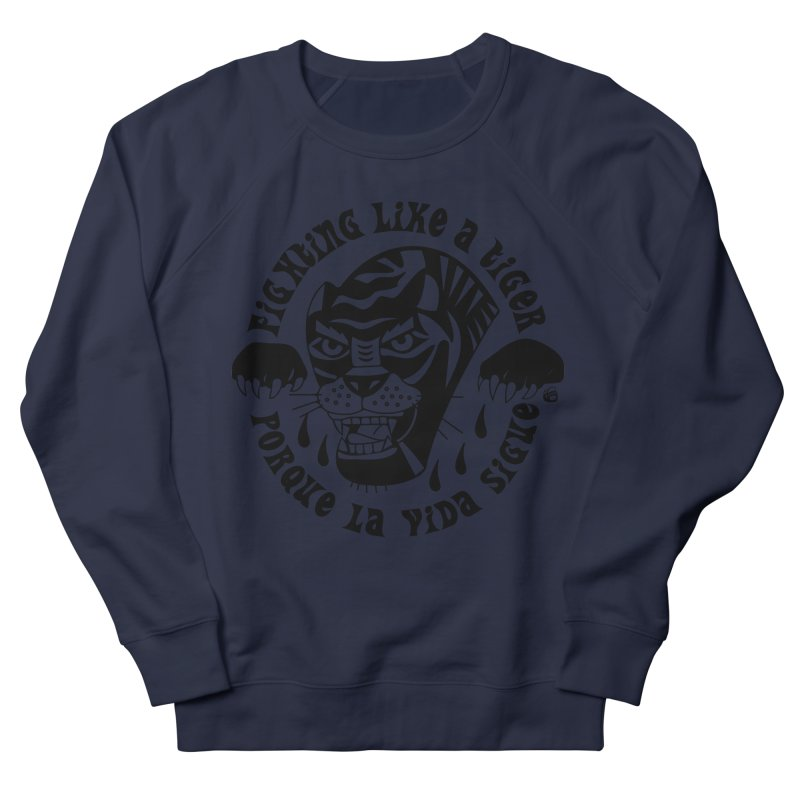 LIKE A TIGER Men's Sweatshirt by Mico Jones Artist Shop
