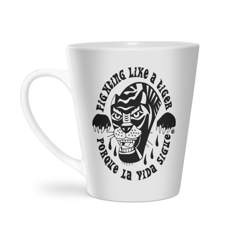 LIKE A TIGER Accessories Mug by Mico Jones Artist Shop