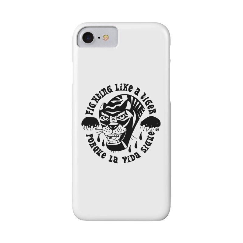 LIKE A TIGER Accessories Phone Case by Mico Jones Artist Shop